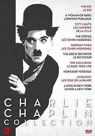 2e868df53139c8 Charlie Chaplin DVD Coll.1   10 Films  THE KID   A WOMAN IN PARIS ...