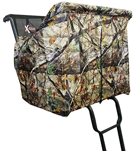 X-Stand Treestands Two Person Ladderstand Blind Two-Person Ladderstand Hunting Blind Kit, Black