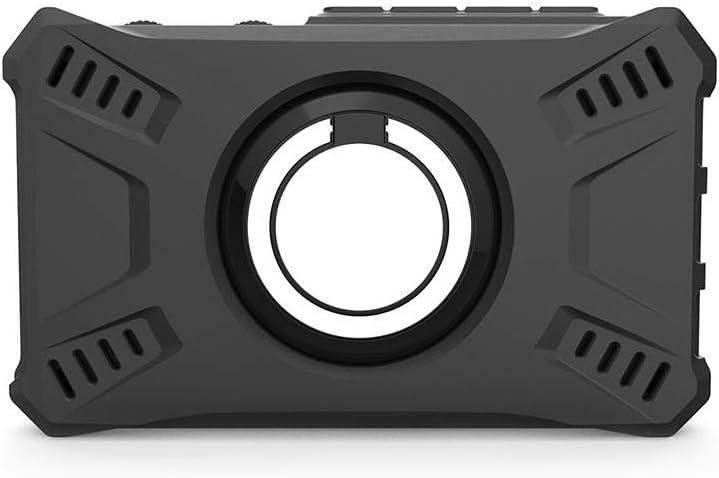 Pasamer Oscilloscope Silicone Case DS213 Black Mini Oscilloscope Silicone Case Shell with 1Pcs Ring Bracket