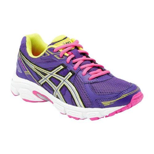 Asics Gel Galaxy 7 GS, Boys' Running Shoes Morado / Plata / Verde