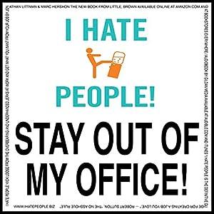 I Hate People! Audiobook