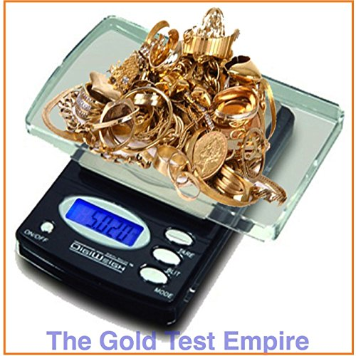 0.1gram Digital Jewelry Lab Scale for Gold Silver Acid Solution Test Testing Kit - 0.1% Solution