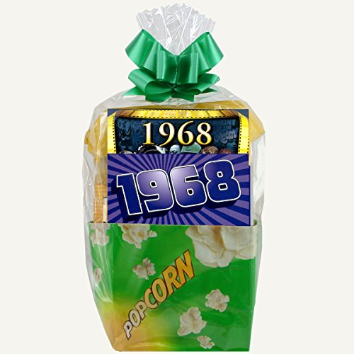 1968 Movie Night Package - 50th Birthday Gift or 50th Anniversary Gift (Gift Baskets 50th Anniversary)
