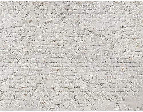 Fototapeten Ziegelmauer 3D Beige 352 x 250 cm Vlies Wand Tapete Wohnzimmer  Schlafzimmer Büro Flur Dekoration Wandbilder XXL Moderne Wanddeko 100% ...