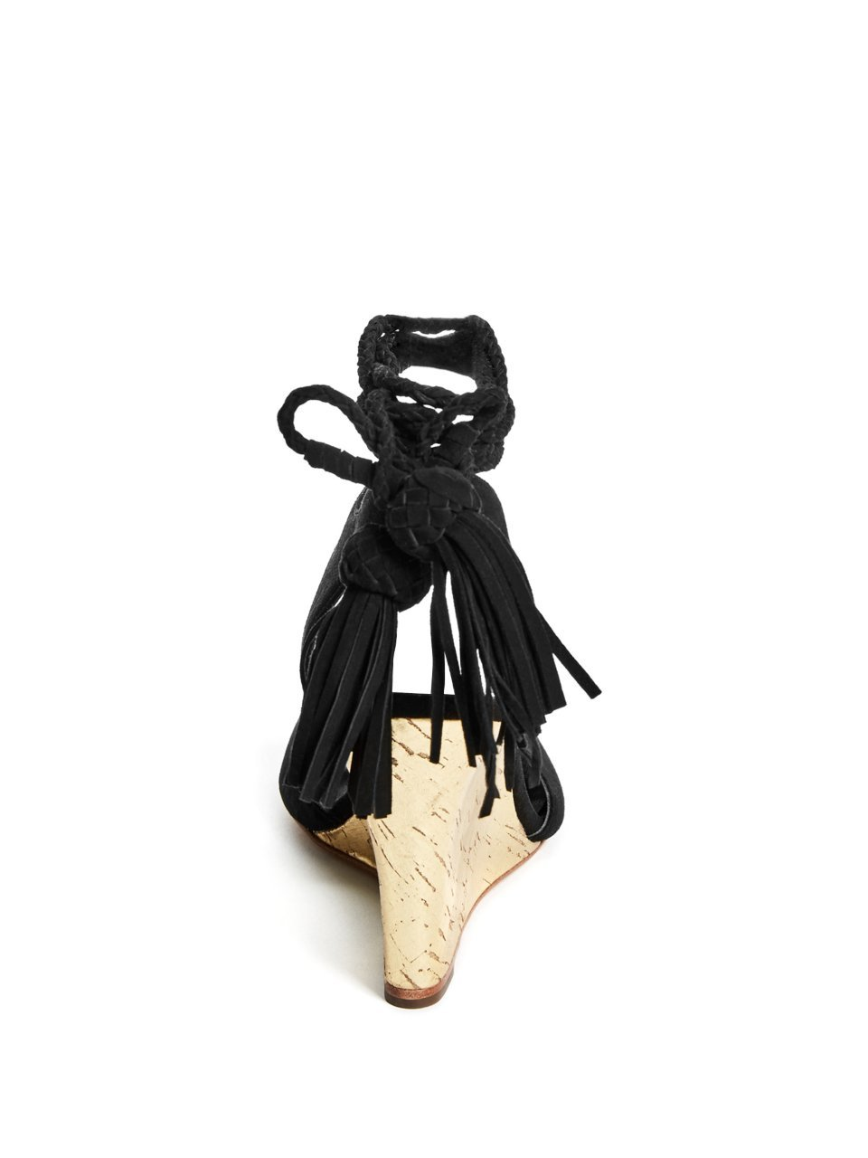 GUESS by Marciano Women's Riya Wedge B077NPYCJN 5.5 B(M) US|Black Multi Suede