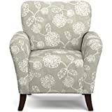 Handy Living Sasha Arm Chair, Taupe Floral