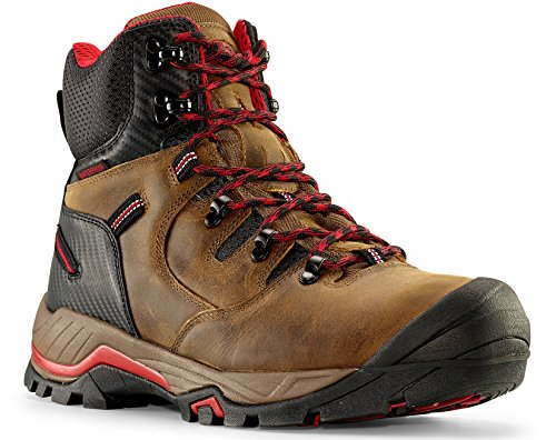 Maelstrom Men's Waterproof Work Boots for Industrial Construction Utility Outdoors
