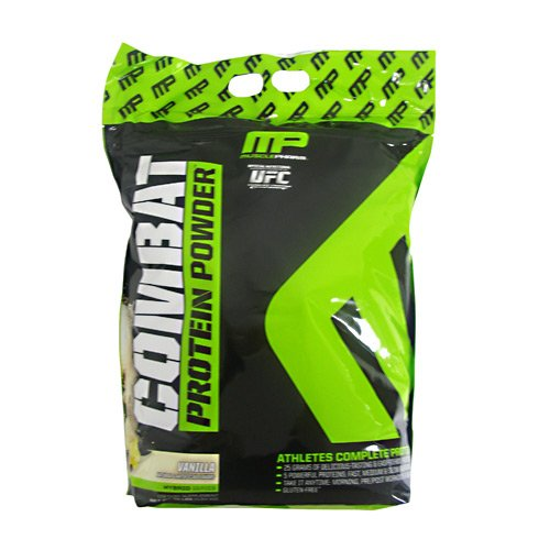 Muscle Pharm Combat Supplement, Vanilla, 10 Pound