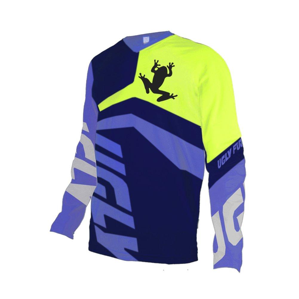 Uglyfrog # 02 2017新作メンズBMX Bike JerseyメンズDownhill MontainバイクTop B077GSFYGJ Large|カラー20 カラー20 Large