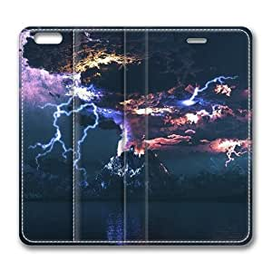Angry Volcano Standing Leather Smart Cover Case Exclusive for iPad Air Screen