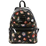 Loungefly Harry Potter Character All Over Print Mini Backpack