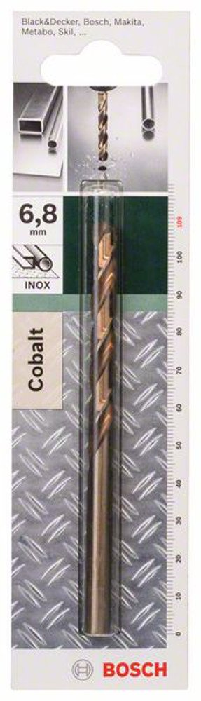 Bosch DIY 2609255076 Metal Drill Bit HSS-Co 6.8 x 69 x 109 mm 1