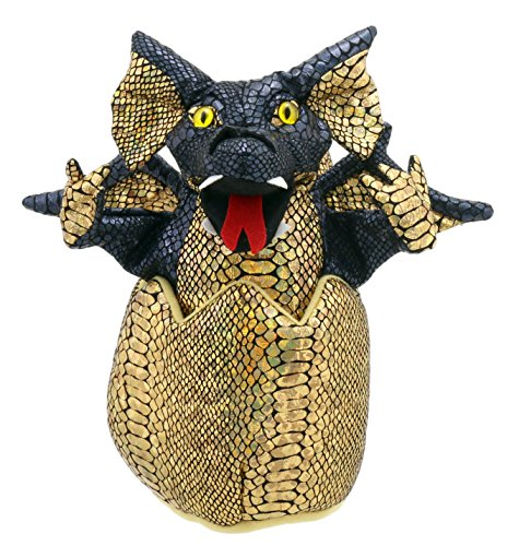 The Puppet Company Black Hatching Dragon Hand Puppet