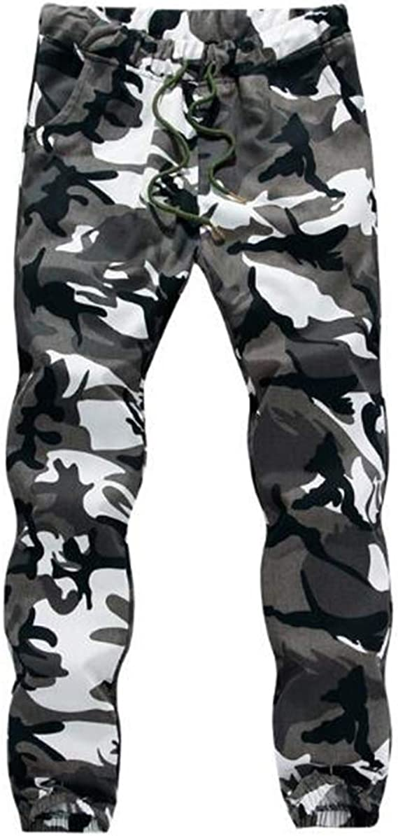 Fangcheng Camuflaje Jogger Pantalones Hombres Hip Hop ...