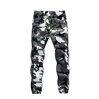 Fangcheng Camouflage Jogger Pantalon Hommes Hip Hop Pantalon Décontracté  Tactique Militaire Pantalon Poches Hommes Pantalon De 14c743cc13a
