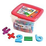 Educational Insights Jumbo MathMagnets, Multicolored