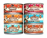 Merrick Purrfect Bistro Canned Cat Food Variety Pack – 6 Flavors, 3-Ounces Each (12 Pack)