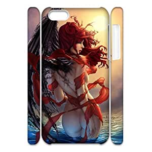 Iphone 5C Case 3D Fairy Sexy Girl in the Sea Yearinspace YS562897