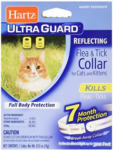 Hartz Ultra Guard Reflecting Flea & Tick Cat Collar, White 1 Each