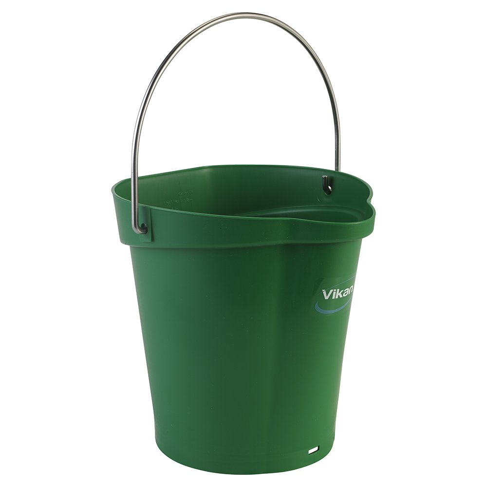 Vikan Polypropylene Green 1.5 Gallon Pail