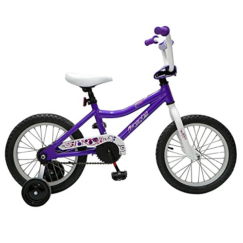 Piranha Teeny Lady Kid's Bike, 16 inch Wheels, 11.25 Frame, Girl's Bike, Purple Special Offers