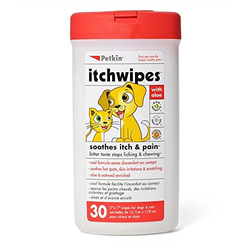 Petkin Itch Wipes 30 count ()