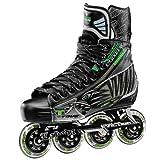 Tour Hockey Pro Fish Bonelite Inline Hockey Skate, Black, 9.5