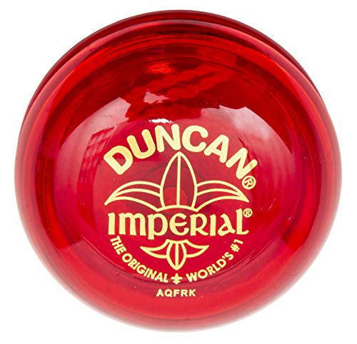 Duncan Imperial Yo-Yo - String Yo-Yo for Beginners with Narrow String Gap, Steel Axle, Plastic Body, Looping Play , Assorted Colors