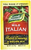 Good Seasons Salad Dressing & Recipe Mix, Mild Italian, 1-Ounce Packets (Pack of 24)