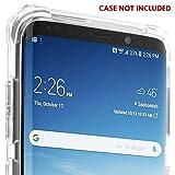 Galaxy S9 Plus Screen Protector [2-Pack], IQ Shield LiQuidSkin Bubble-Free [Case-Friendly] Screen Protector for Galaxy S9 Plus HD Clear Film