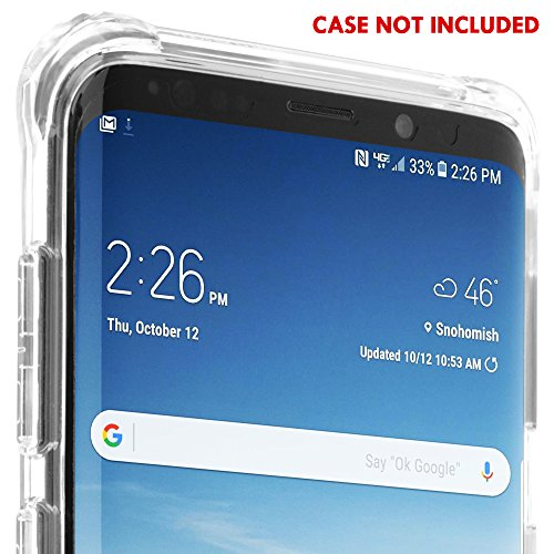Galaxy S9 Plus Screen Protector [2-Pack], IQ Shield LiQuidSkin Bubble-Free [Case-Friendly] Screen Protector for Galaxy S9 Plus HD Clear Film