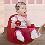 Megaseat Infant Floor Seat with Safety Belt, Ruby Red