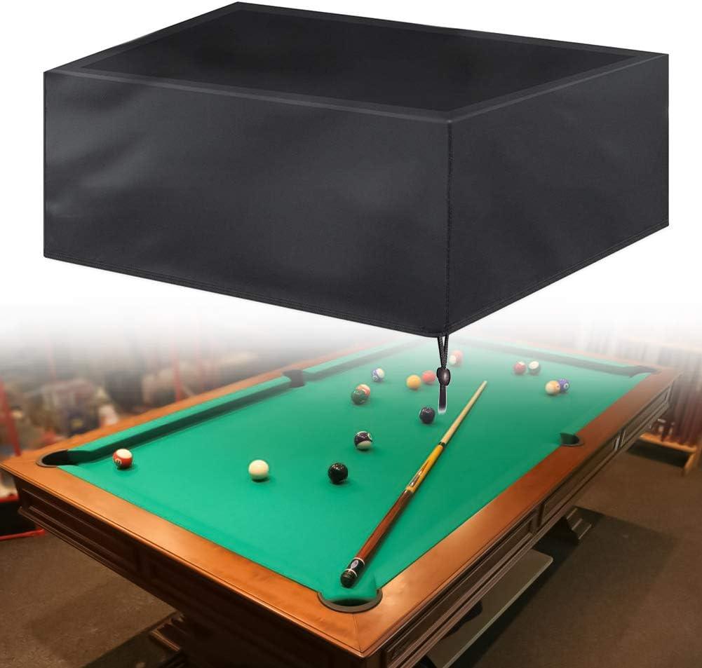 Yeshai3369 Funda De Billar, Pool Snooker Mesa De Billar Cubierta ...