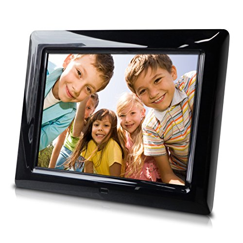 Sungale PF803 8'' Digital Photo Frame, Hi-resolution, transitional effects, slideshow, interval time adjust, more by Sungale