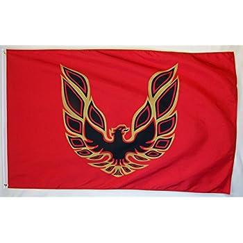 Amazon Pontiac Firebird Logo Car Flag 3 X 5 Indoor Outdoor