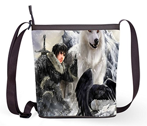 Sling Bag11 Popular Fashion of Game Shoulder Thrones Sling Theme Bag Female Bag with Crossbody Casual Bag and Thrones of Game FFrngqUH