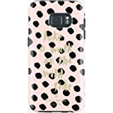 Kate Spade New York Flexible Hardshell for Samsung Galaxy S7 - Musical Dot Black / Light Au Naturel
