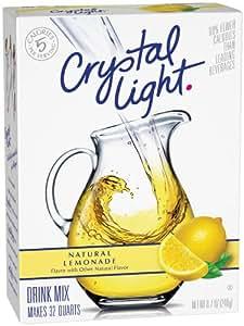 Crystal Light Lemonade (Makes 32-Quart), 4-Ounce Boxes (Pack of 3)