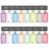 Acrimet Key Tag Rack w/ 8 Keyring Tags 2-Pack