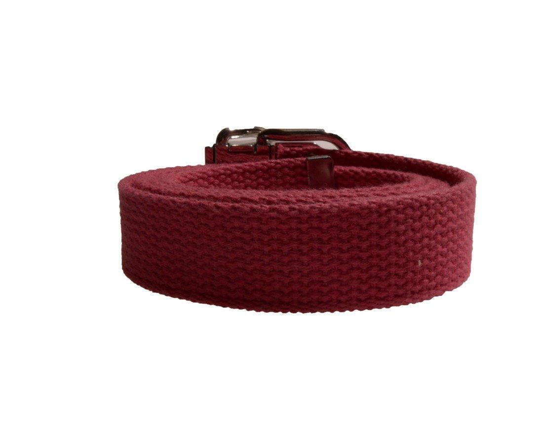 Nine West Women's 1 Inch Cotton Web Belt in Pink Size Medium by Nine West (Image #3)