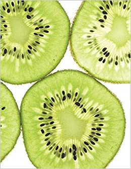 Kiwi Notebook large Size 8.5 x 11 Ruled 150 Pages - Livros na Amazon  Brasil- 9781723191251
