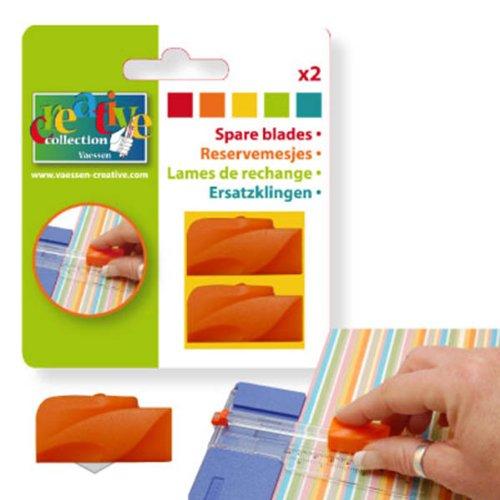 Vaessen Creative-Lame di ricambio in plastica, colore: arancione 22212