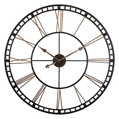 Infinity Instruments The Tower XXL Wall Clock (Open Face Clock compare prices)