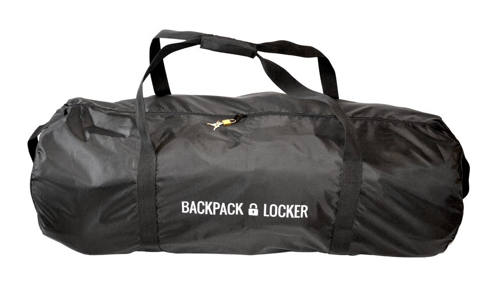 Backpack Locker Lightweight - flight travel backpack / rucksack / bag transit cover - lockable (padlock GRATIS!) duffel bag (65 l - 285 g)