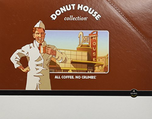 Donut House Collection, Donut House Decaf, K-Cup Portion Pack for Keurig K-Cup Brewers (Pack of 48) ()