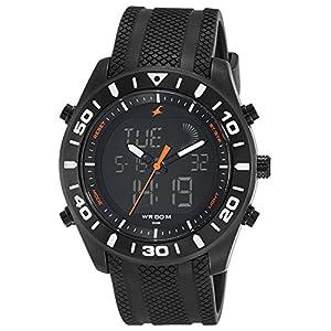 Fastrack Analog-Digital Black Dial Men's Watch-NL38034NP01