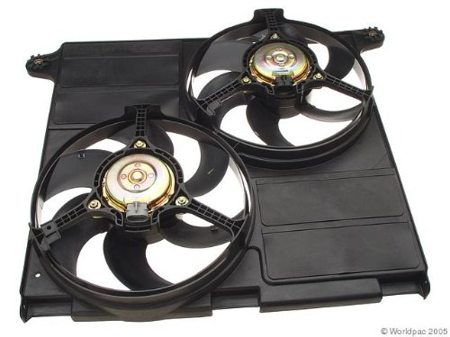 (OES Genuine Auxiliary Fan Assembly for select Jaguar models )