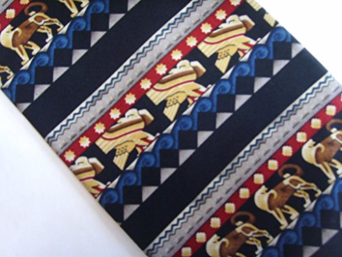 Mens Tie Necktie Rockefeller Center NY Architectural Details Men's Clothing (Architectural Unknown)