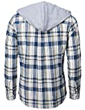 H2H Mens Casual Hoodie Jackets Lightweight Long