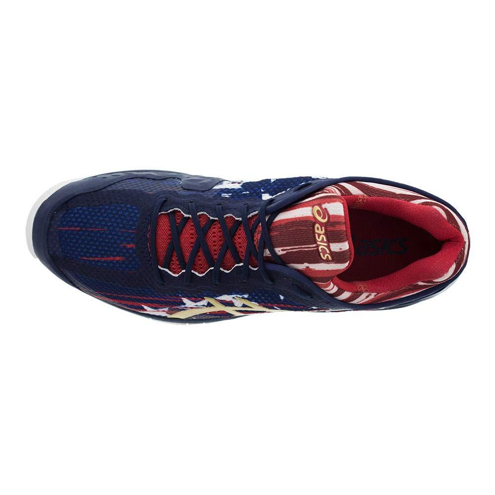 ASICS Gel Court FF L.E. Marineblau Rot Herren Schuhe Schuhe Schuhe aed0e4